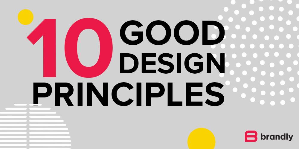 The 10 Good Design Principles