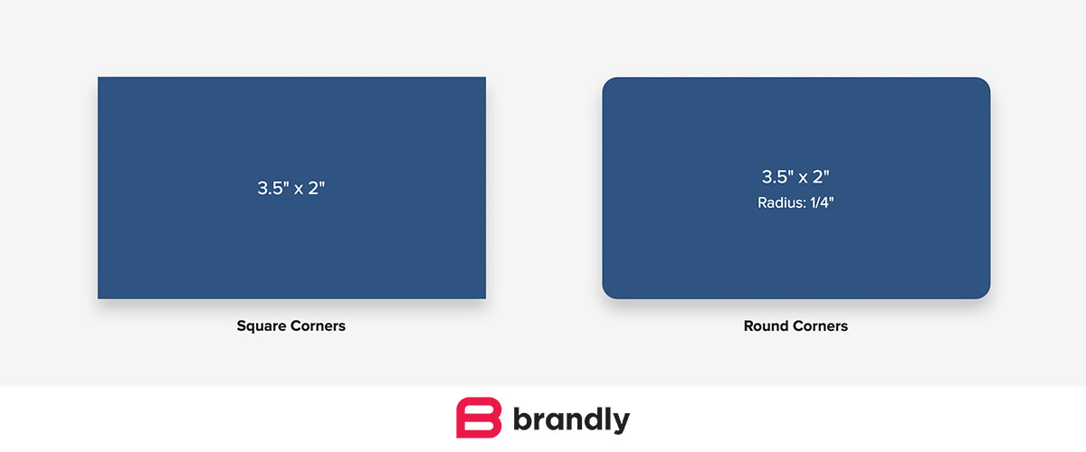 Standard Business Card Sizes Free