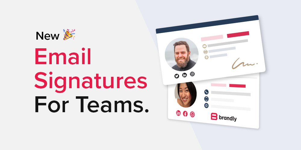 Introducing: Email Signatures for Teams