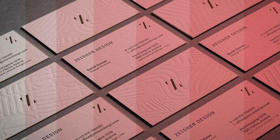 10 Clean & Minimal Business Card Inspirational Designs