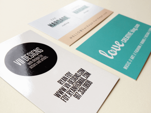 How To Choose The Right Business Card Paper Type Brandly Blog