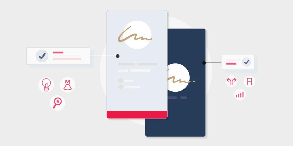 Vertical Business Cards: 20 Inspirational Designs